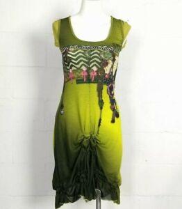 2026 Duex Mille Vingt Six Green Dita Dress Size 1 (XS?)