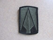 US Army 177th Armor Brigade Subdued BDU SEW ON Military Patch Used