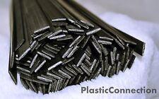PP4 Plastik Schweißdrähte 6mm Schwarz Packung mit 30 Teile - Flach