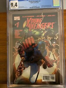 Young Avengers #1 CGC 9.4🔥 1st Kate Bishop, Patriot Iron Lad Wiccan Hulkling
