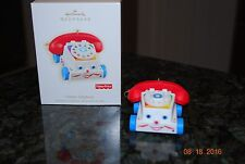 2009 Hallmark  Fisher Price Chatter Telephone phone Xmas Keepsake Ornament MIB