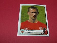 193 PETER CROUCH LIVERPOOL UEFA PANINI FOOTBALL CHAMPIONS LEAGUE 2005 2006