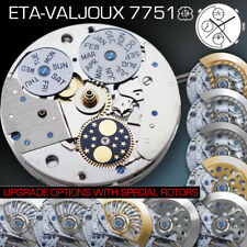 MOVEMENT ETA VALJOUX 7751, AUTOMATIC CHRONOGRAPH, MOON PHASE