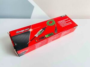 *NEW* Snap On 12 V DC Digital LCD Display Green Circuit Tester EECT400G