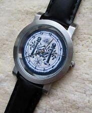 Armbanduhr Zifferblatt mit Freimaurer Motiv - Ronda schweizer Quarzuhrwerk - 27