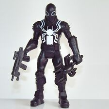 "Marvel Ultimate Spider-Man 6"" Action Figure ~ Agent Venom Sinister Six + Weapons"