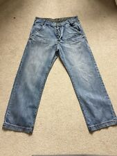 GEORGE LOOSE FIT MENS JEANS SIZE 34 LENGTH 29