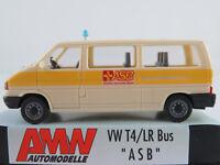 """AMW 3017.2 VW T4 Bus (1990-1995) """"Arbeiter-Samariter-Bund"""" 1:87/H0 NEU/OVP"""