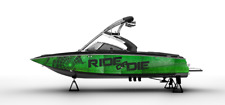 !LBRK GRAPHIC KIT DECAL BOAT SPORT WRAP SEADOO WAKE BOARD ARMY Design