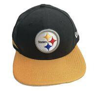 New Era 9 Fifty 950 NFL Pittsburgh Steelers Snapback Baseball Hat Cap Football!!