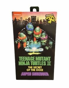 Neca Tennage Mutant Ninja Turtles 2 Secret of the Ooze 30th Ann. Super Shredder