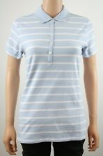Tommy Hilfiger Golf Sky Blue Stripe Polo Shirt TW101 - M