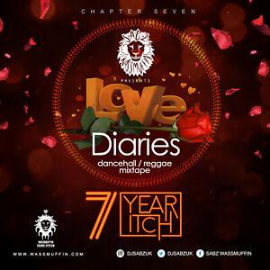 LOVE DIARIES CHAPTER 7 REGGAE LOVERS ROCK, DANCEHALL MIX CD, MIXTAPE 2018 HITS