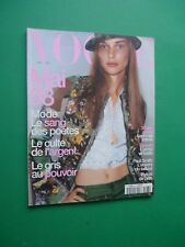 VOGUE PARIS Mai 1998 May 787 Ewa Paul cover Mario Testino