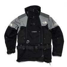North Face Steep Tech 3XL XXXL Men's  Jacket Coat Insulated Black Gray NO HOOD !