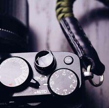 Brass Shutter Release Button For Fuji Fujifilm Leica Black