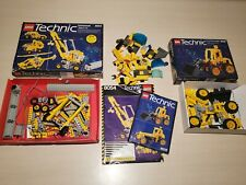 LEGO Technic 8828 Front End Loader & 8054 Universal Set with box manual & BONUS