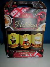 Jordans Skinny Syrup Sugar Free Holiday Lot 3X12.7=38oz Sampler Coffee Flavoring