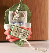1989 Hallmark ~Collect A Dream~ Keepsake Ornament Collector's Club