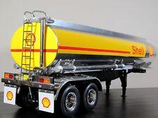 Custom Tamiya R/C 1/14 Semi Shell Gas Tank Tanker Trailer Tractor Truck 56303