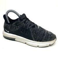 Nike Air Max Sequent 4.5 GS Running Shoes (AO0554-001) Gray Boys Youth Size 3 Y