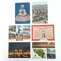 Belgium Postcards Vintage Lot of 6 Older Belgium Postcards (1 Used and 5 Unused)