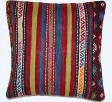 Kelim Kissen 40x40cm Kilim Cushion Kissenbezug Pillow Dekokissen Türkei Neu K728