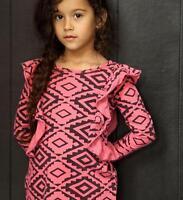 2 NWT Joah Love Deco Print Dress with Ruffles 3