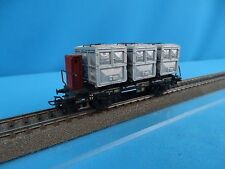 Marklin 4614 DB Behältertragwagen 60-ies