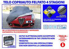 Telo copriauto -  copri auto per auto Alfa Giulietta elasticizzato Taglia L