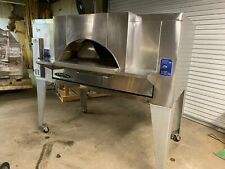 Bakers Pride Fc 616 Natural Gas Deck Pizza Oven Withtrim Hood Package 140000 Btu