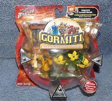 GORMITI SERIES 1 GRAVITUS THE STRONG & FLORUS THE POISONER SET