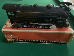 Vintage 1938-42 Lionel 225E Locomotive w/2245W Die cast Tender Original Boxes