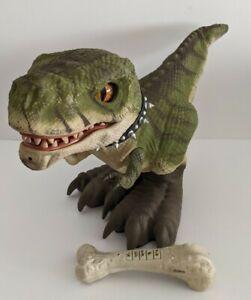 D Rex Interactive Dinosaur * T-Rex Mattel Prehistoric Pets  W/Remote M8577 WORKS