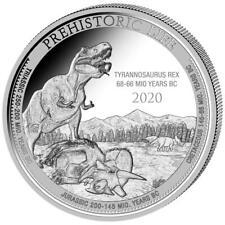 Kongo - 20 Francs 2020 - T-Rex (1.) - Premium-Anlagemünze - 1 Oz Silber ST
