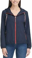 Tommy Hilfiger Ladies Windbreaker Hoodie Jacket, Navy...