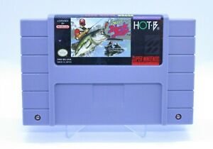 Super Black Bass (1992) SNES Super Nintendo Authentic Cartridge CLEANED & TESTED