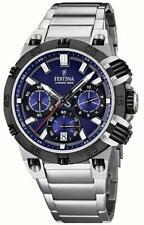 Festina Herren-Armbanduhr XL Tourchrono Chronograph Quarz F16775/C