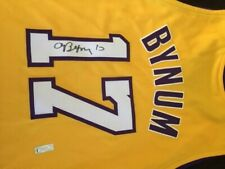 Andrew Bynum Autograph Jersey Los Angeles Lakers w/ COA