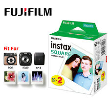 For Fujifilm Instax SQUARE SQ10 Instant Camera 20 Sheets Fuji Film Papers Photos