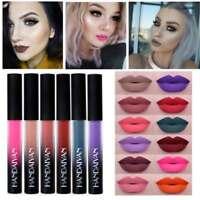 Womens Waterproof Long Lasting Liquid Velvet Matte Lipstick Makeup Lip Gloss LIU
