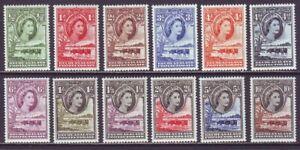 Bechuanaland 1955 SC 154-165 MNH Set