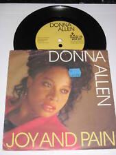 """Donna Allen-Joie et douleur - 1988 allemand 2-track 7"""" vinyl single"""
