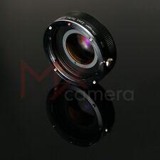 Mitakon Lens Turbo Focal II Reducer Adapter Canon EOS - FujiFilm FX camera