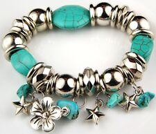Fashion Bracelet Glass Fimo Shell Metal Plated Beads Fashion Jewelry