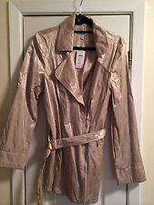 CACHE GOLD SHIMMER JACKET SIZE L NEW WITH TAGS