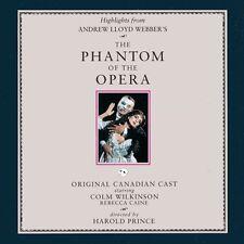 Andrew Lloyd Webber - Phantom of the Opera / Orig Canadian Cast [New CD] Highlig