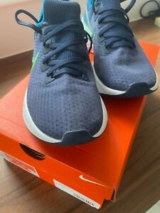 Size UK 7 - Nike React Infinity Run Flyknit  Blue