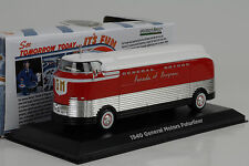1940 General Motors Futurliner Parade of Progress 1:64 Greenlight (14cm)