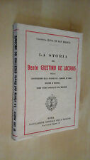 LA STORIA DEL BEATO GIUSTINO DE JACOBIS Di San Marco Missione S. Vincenzo 1939